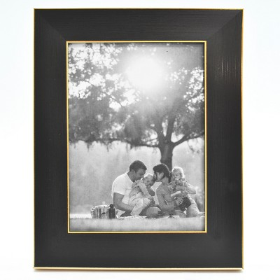 4  x 6  Single Photo Frame Black/Brass - Threshold™