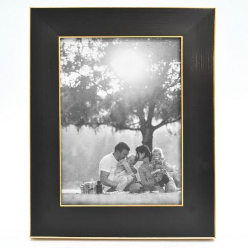 Black and Brass Foundation Frame - Threshold™ - image 1 of 2