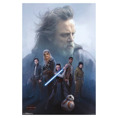 Star Wars The Last Jedi Protect Poster 34x22 - Trends International - image 1 of 2