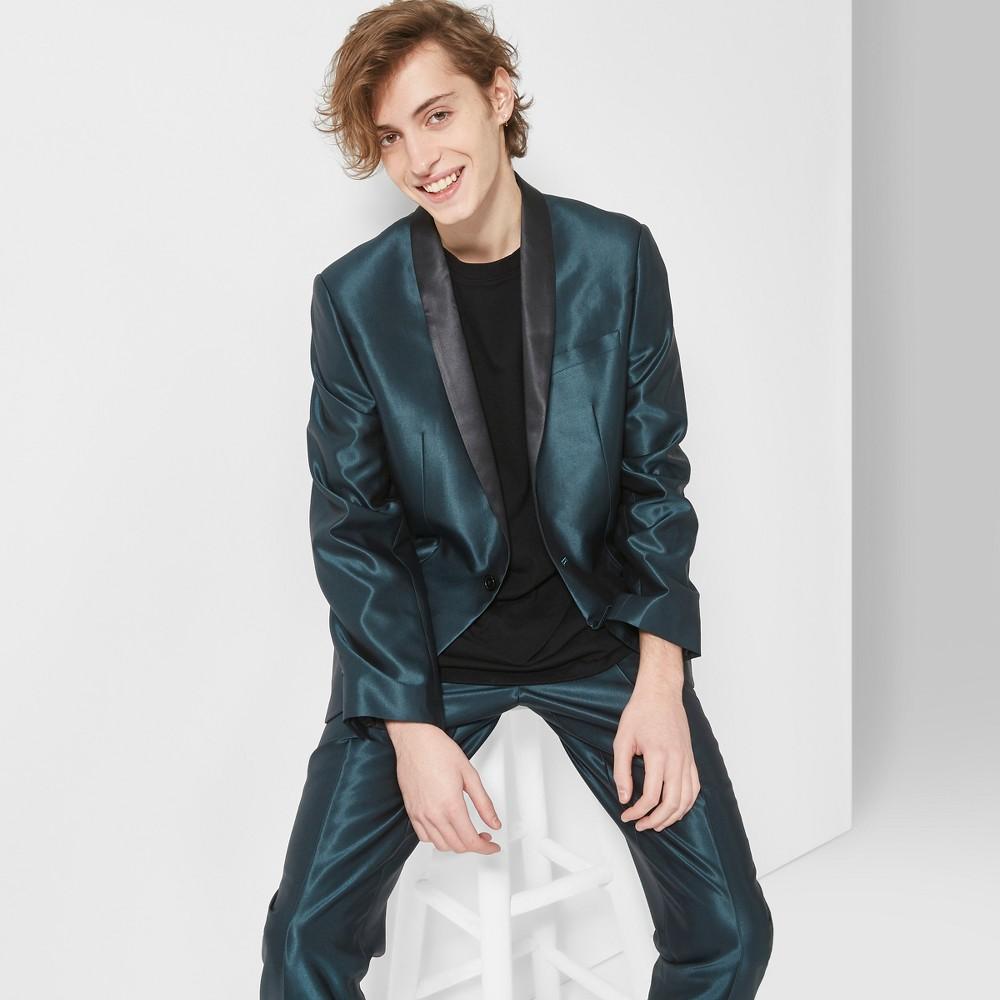 Men's Classic Fit Suiting Blazer - Original Use Green Bird L