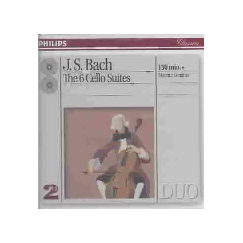 Manuel; Maurice Gendron  Johann S.; Ojeda Bach - Bach,Js:6 Cello Suites (CD) - image 1 of 1