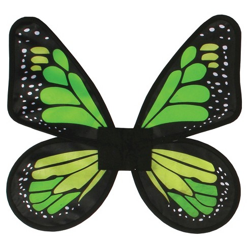 Satin Butterfly Wings Green - image 1 of 1