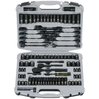Stanley 92-839 99-Piece Black Chrome Socket Set