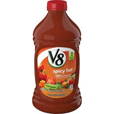 V8 Spicy Hot 100% Vegetable Juice - 64 fl oz Bottle