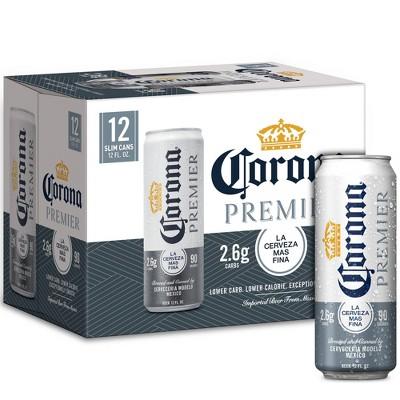 Corona Premier Lager Beer - 12pk/12 fl oz Cans