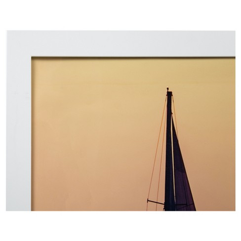 24x36 White Flat Large Wall Frame Gallery Perfect