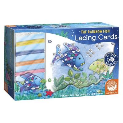 Rainbow Fish Lacing Cards