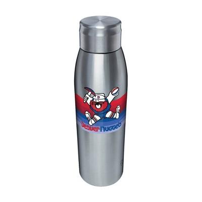 NBA Denver Nuggets 17oz Retro Stripe Stainless Water Bottle