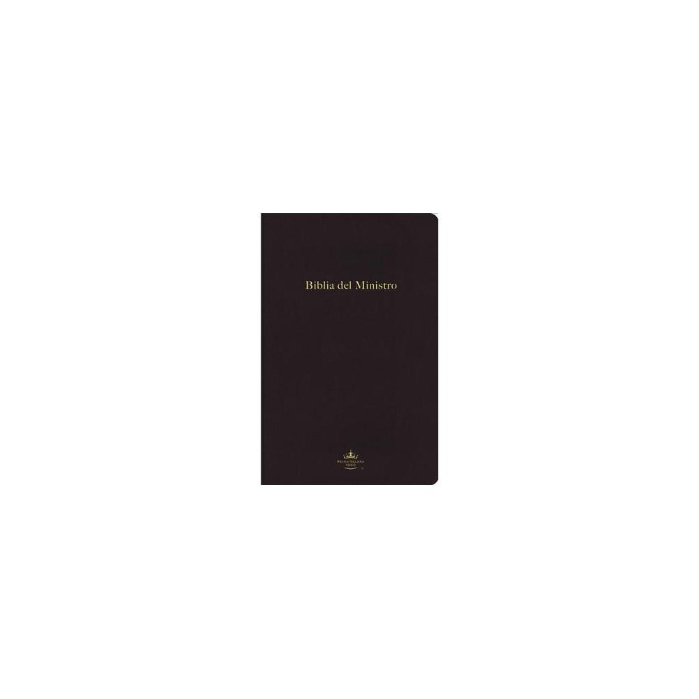 Biblia del ministro : Reina-Valera 1960, negro, leathersoft, format ultrafino - (Paperback)