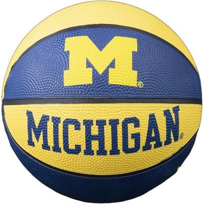 NCAA Michigan Wolverines Mini Basketball