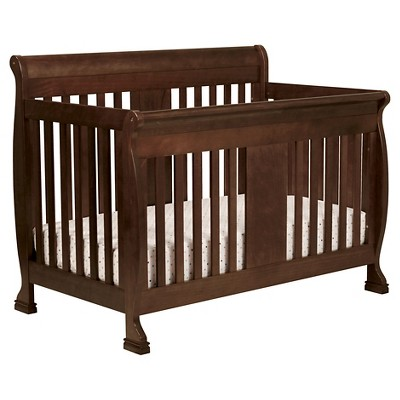 DaVinci Porter 4-in-1 Convertible Crib with Toddler Rail - Espresso