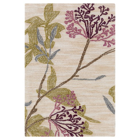 Ailana Floral Area Rug - Surya - image 1 of 3