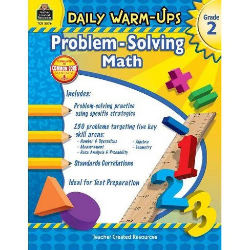 Daily Warm-Ups: Problem Solving Math Grade 2 - (Daily Warm-Ups: Word Problems) by  Mary Rosenberg - image 1 of 1