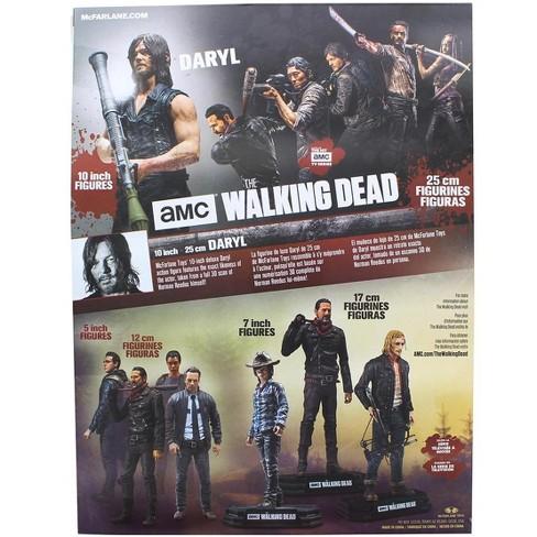 The Walking Dead 10 Inch Daryl Dixon W Rocket Launcher Mcfarlane