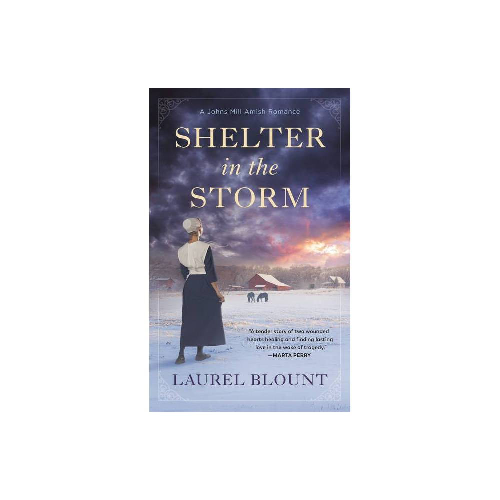 Shelter In The Storm A Johns Mill Amish Romance By Laurel Blount Paperback