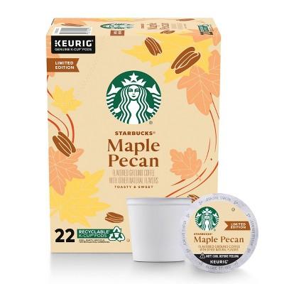 Starbucks Maple Pecan Light Roast Coffee - Keurig K-Cup Pods - 22ct