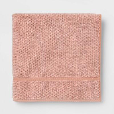 Performance Texture Bath Sheet Clay - Threshold™