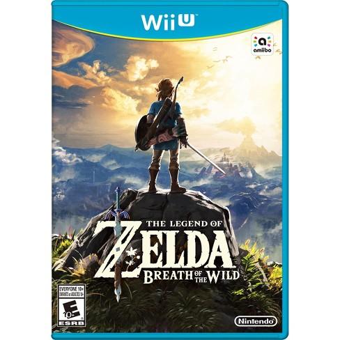 The Legend of Zelda: Breath of the Wild Nintendo Wii U - image 1 of 4