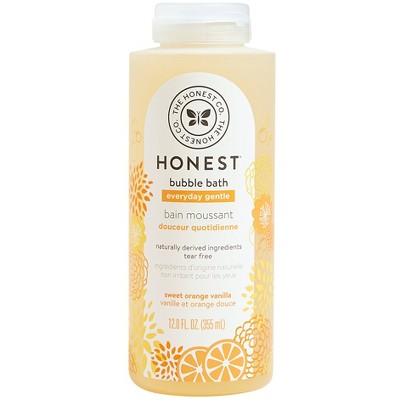 The Honest Company Everyday Gentle Bubble Bath Sweet Orange Vanilla - 12 fl oz