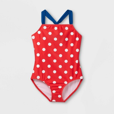 Girls' One Piece Swimsuit - Cat & Jack™
