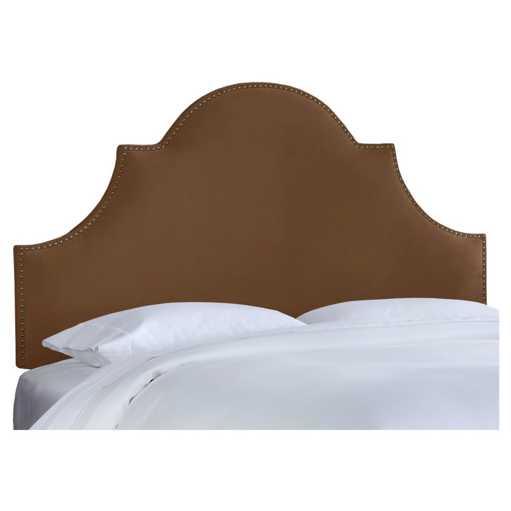 Chambers Headboard - Premier Chocolate (California King) - Skyline Furniture
