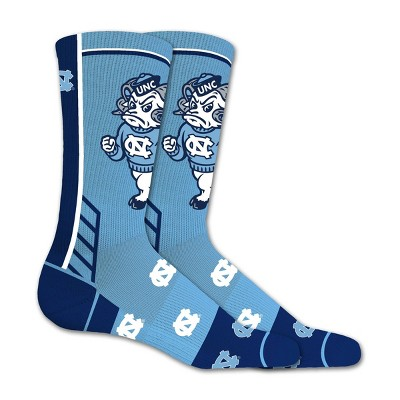 NCAA North Carolina Tar Heels Tailgate Crew Socks 10-13