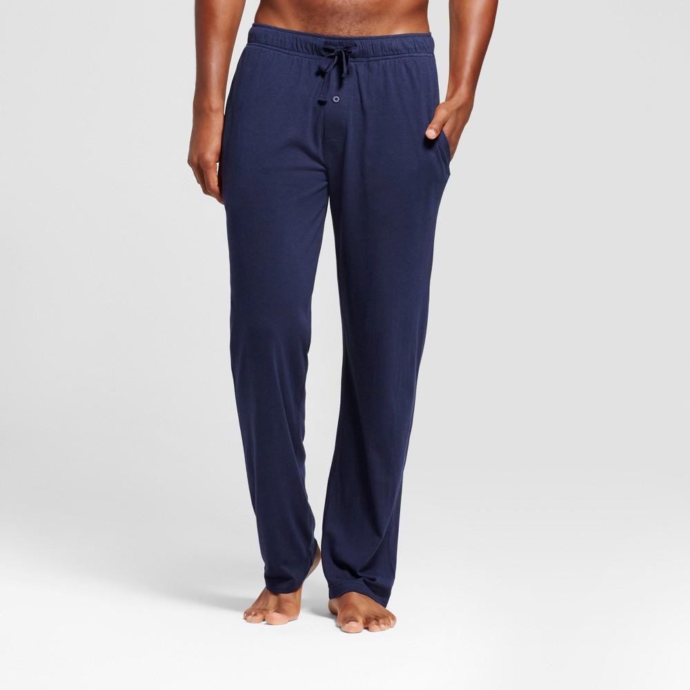 Image of Men's Knit Pajama Pants - Goodfellow & Co Xavier Navy 2XL, Men's, Blue