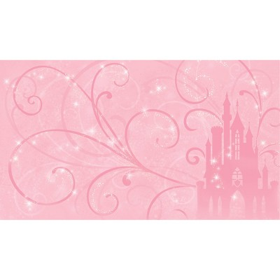 6'x10.5' Princess Scroll Castle Chair Rail Prepasted Mural Ultra Strippable - RoomMates