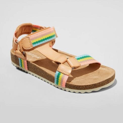 Girls' Val Footbed Sandals - Cat & Jack™ - image 1 of 4