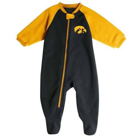 NCAA Iowa Hawkeyes Infant Blanket Sleeper - image 1 of 2