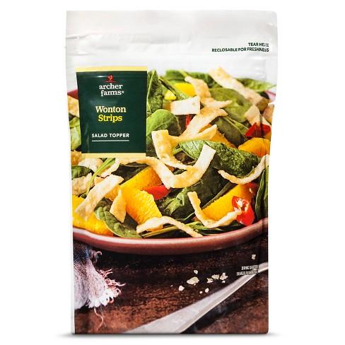 Wonton Strips Salad Toppers - 4oz - Archer Farms™ - image 1 of 1