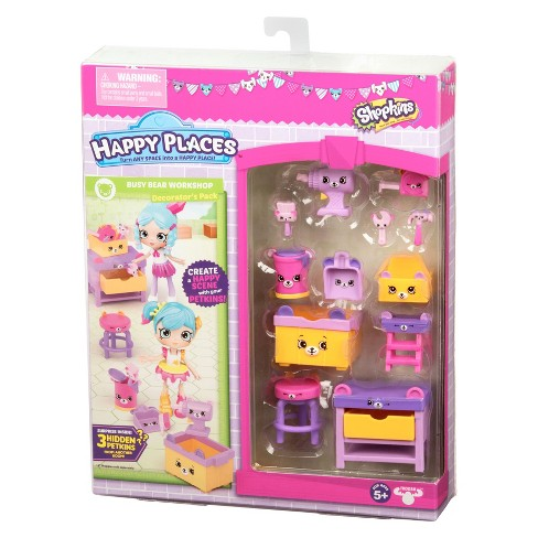 Happy Places Shopkins Decorator Pack Target