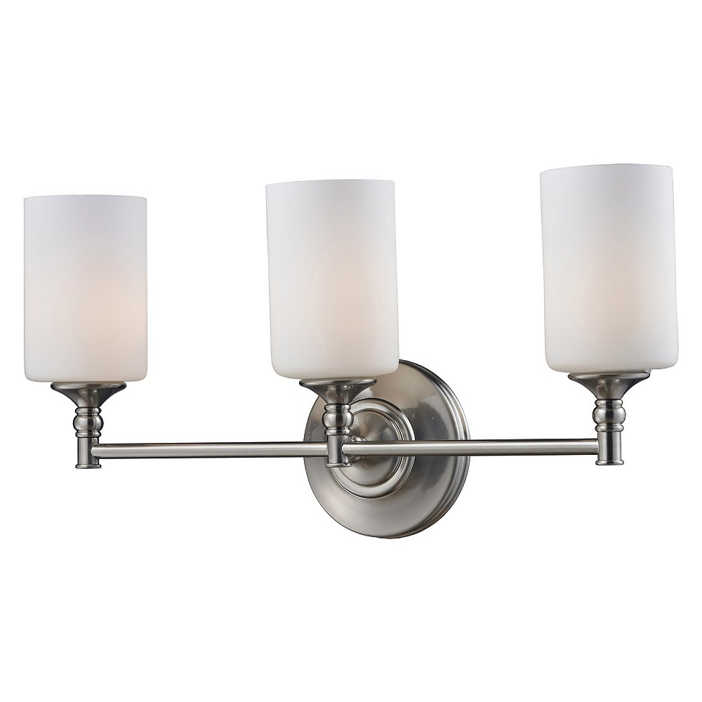Vanity Wall Lights with Matte Opal Glass (Set of 3) - Z-Lite
