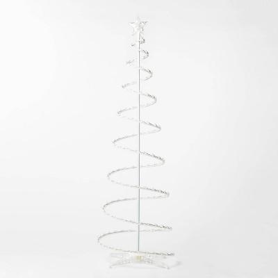 6' Christmas Incandescent Spiral Tree Novelty Sculpture - Wondershop™