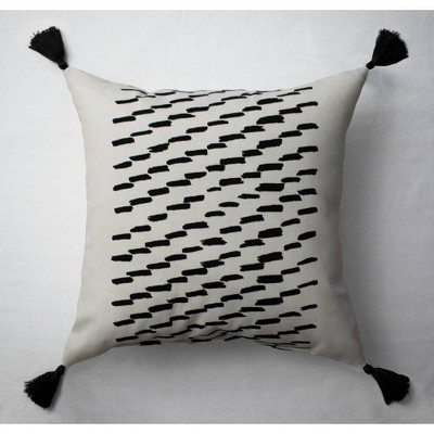 Goldpan Tuft Printed Throw Pillow Black/White - Project 62™