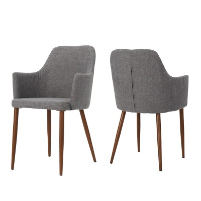 Set of 2 Zeila Mid Century Dining Chair - Christopher Knight Home