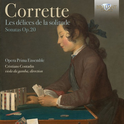 Opera prima ensemble - Corrette:Les delices de la solitude o (CD) - image 1 of 1
