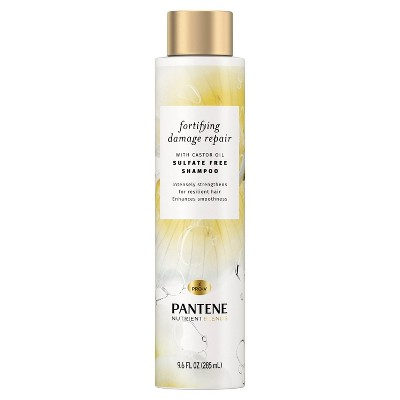 Pantene Nutrient Blends Repair with Castor Oil Shampoo - 9.6 fl oz
