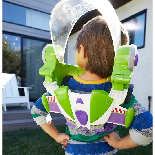 Disney Pixar Toy Story Buzz Lightyear Space Ranger Armor with Jet Pack image number null