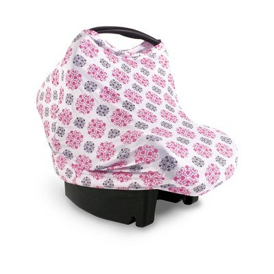Yoga Sprout Baby Girl Multi-use Car Seat Canopy, Medallion, One Size