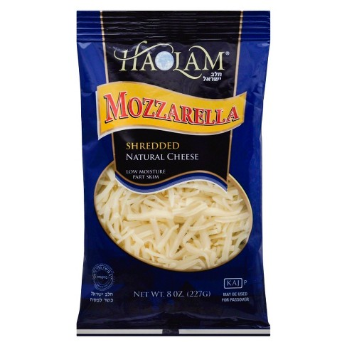 Haolam Shredded Mozzarella Cheese - 8oz - image 1 of 1
