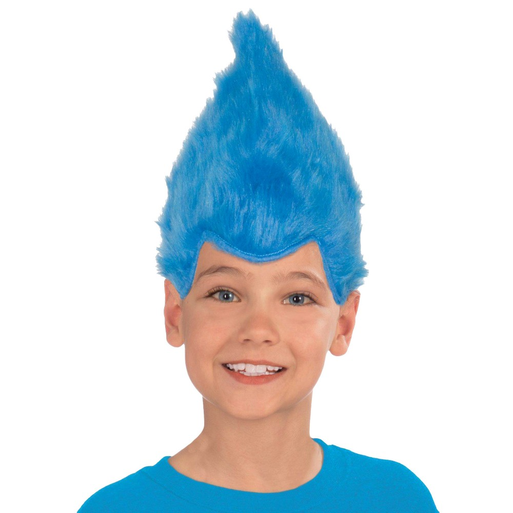 Kid's Fuzzy Wig - Blue, Kids Unisex, Multi-Colored