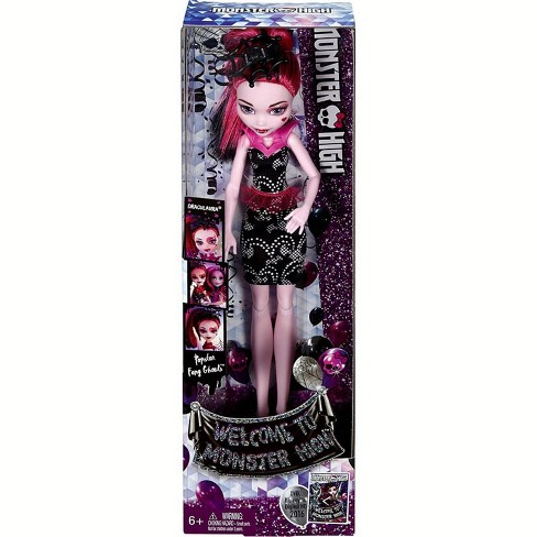 Monster High Popstar Fang Ghouls Draculaura 10.5-Inch Doll - image 1 of 4