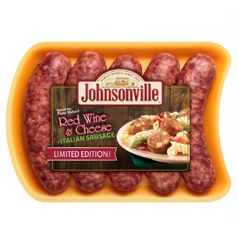 Johnsonville Red Wine & Cheese Sausage - 5ct/19oz - image 1 of 1