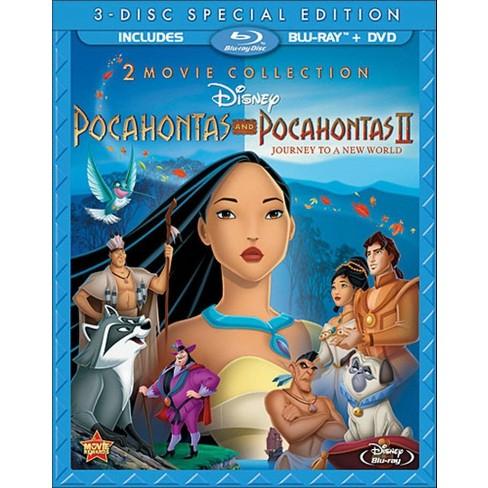 Pocahontas/Pocahontas II: Journey to a New World [2 Discs] [Blu-ray] - image 1 of 1