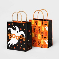 2pk Boo and Graveyard Halloween Gift Bags - Hyde & EEK! Boutique™