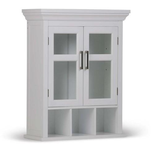 23 6 Inch W Two Door Wall Bath Cabinet