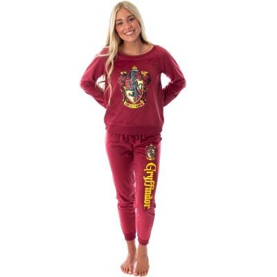 Harry Potter Juniors' Hogwart Castle Jogger Pajama Set - All 4 Houses Available