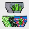 Boys' Minecraft 5pk Briefs - image 2 of 3