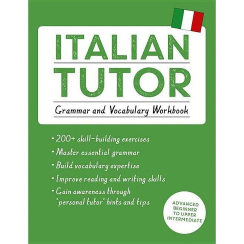 Italian Tutor: Grammar and Vocabulary Workbook (Learn Italian with Teach Yourself) - (Tutor Language) - image 1 of 1